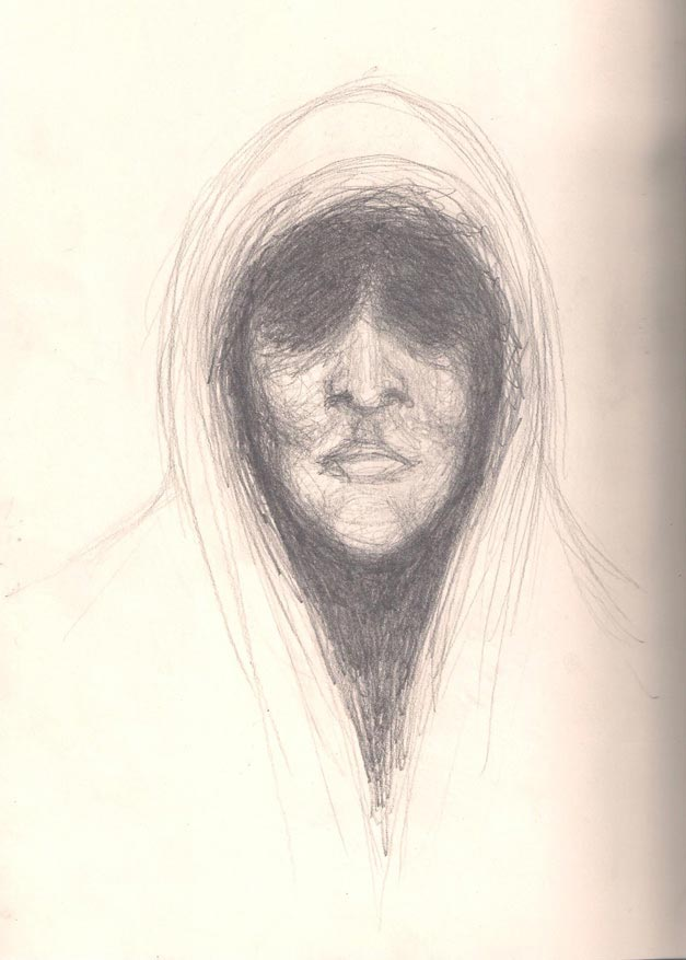 Hooded Sketch