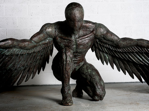No.10 in the 'Angel series' available as a very Limited Edition bronze cast.